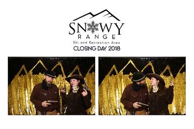 Snowy Range Closing Day 2018