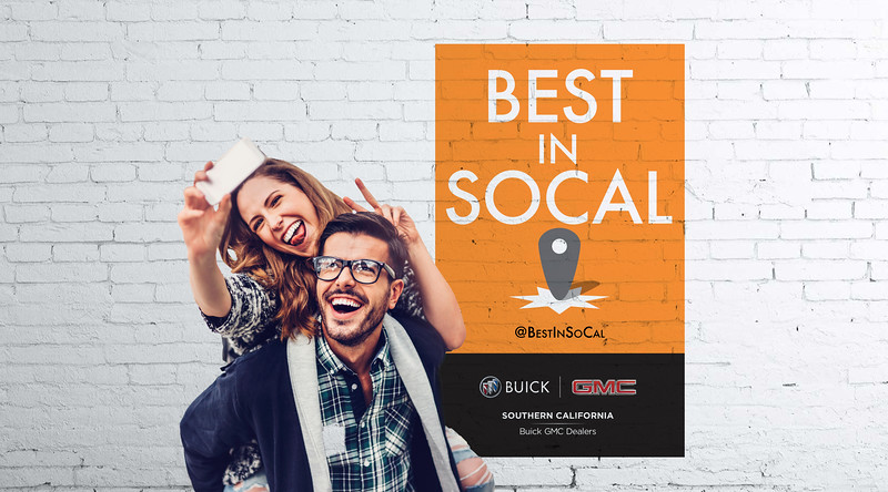 Buick GMC Best of SoCal Campaign
