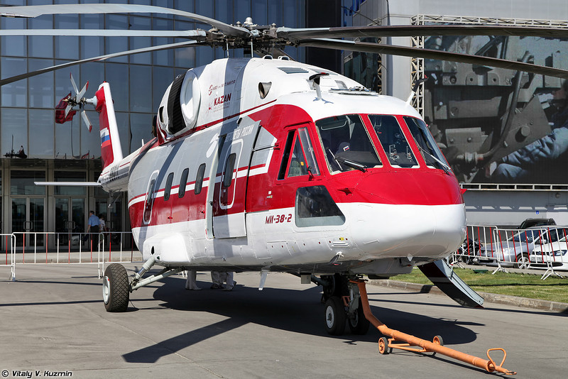International Helicopter Industry Exhibition HeliRussia-2014