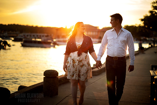 Caitlyn and Riley Engagement photos