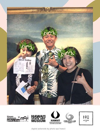HiSAM First Friday | Nov 1, 2019 | Digital Photo Booth