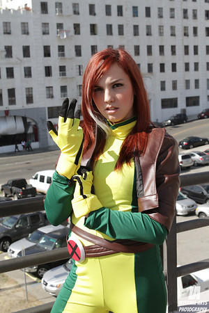 Cosplay Tay as Rogue @ LBCC 2012