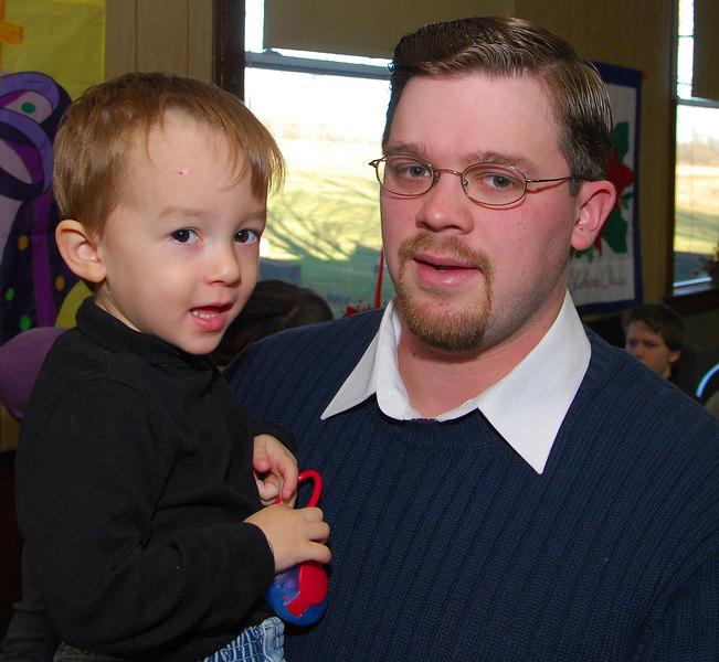 Evan and his Uncle David