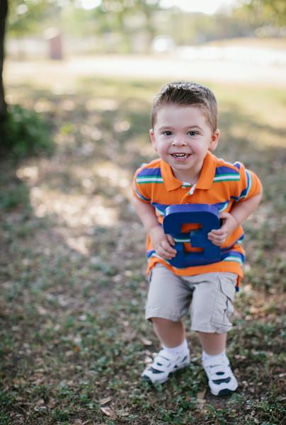 Jackson is 3!