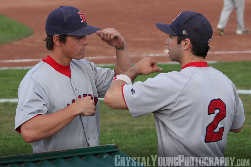 Brantford Red Sox at Kitchener Panthers IBL Playoffs, Semifinals Game 2 August 22, 2013