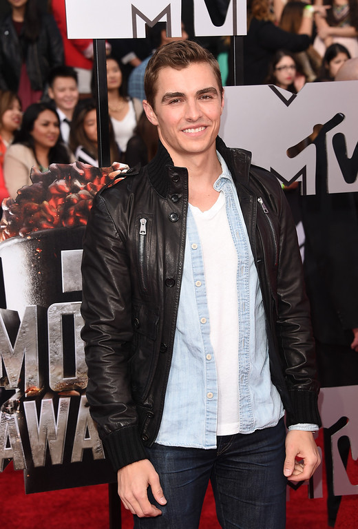 . Actor Dave Franco attends the 2014 MTV Movie Awards at Nokia Theatre L.A. Live on April 13, 2014 in Los Angeles, California.  (Photo by Jason Merritt/Getty Images for MTV)