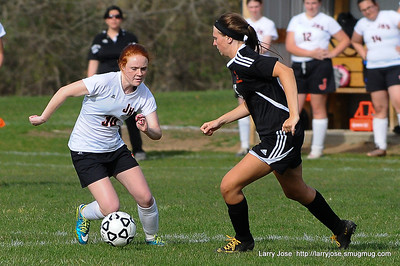 Jonesville vs Sturgis Girls Soccer