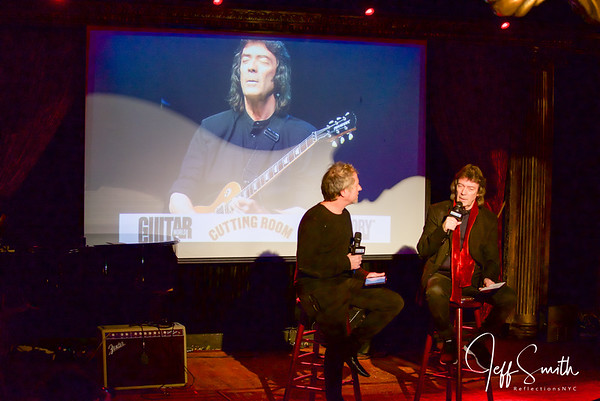 Steve Hackett Q & A with Backstory & Guitar World