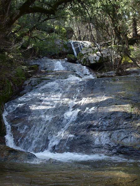 Bass Lake waterfall 5