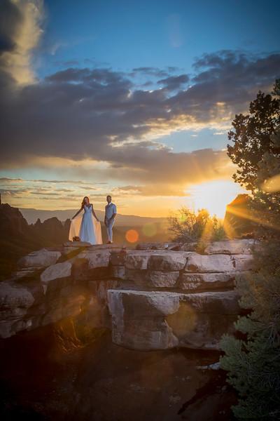 Heather & Jimmy's Sedona Wedding