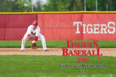2016 JV Baseball - McCutcheon