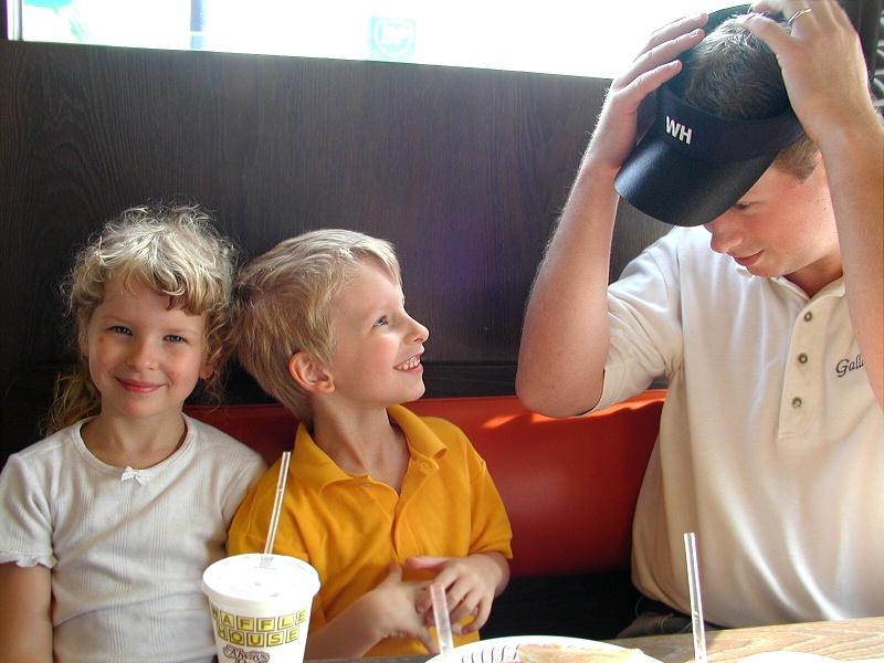 02072601 Tim & Kids at Wafflehouse.jpg