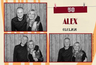 Alex 50. Geburtstag