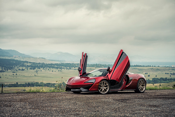 McLaren 570S | Volcano Red | HRE Wheels