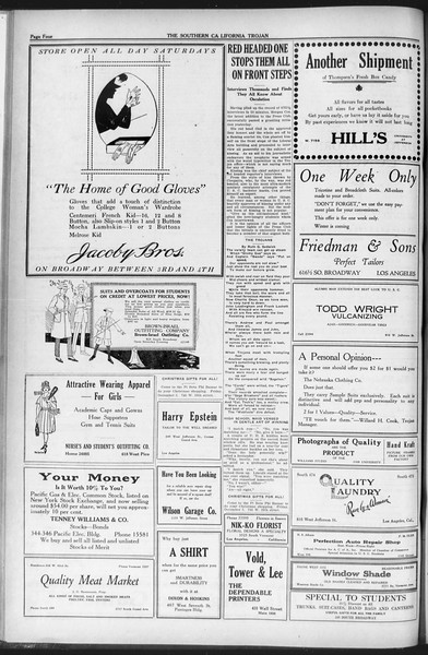 The Southern California Trojan, Vol. 12, No. 36, December 02, 1920