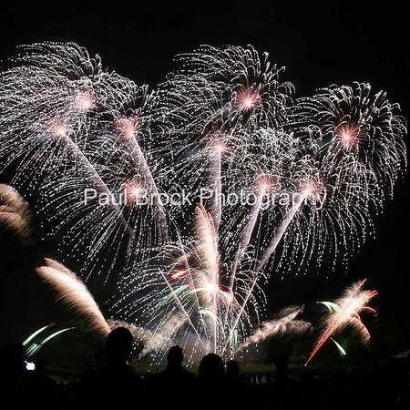 Spitfire Fireworks at Combermere 2008