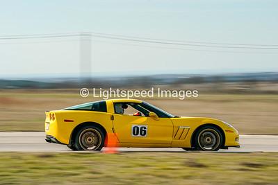 #06 Yellow C6 Z06 Corvette