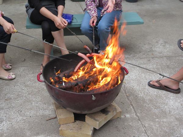 Hotdog Roast & Sing-song, Sep 2014