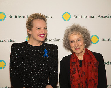 Margaret Atwood and Elisabeth Moss Appear in DC for Preview of Hulu's The Handmaid's Tale