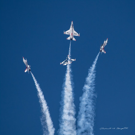 USAF Thunderbirds at Kirtland Air and Space Fiesta May 2019