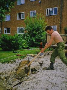Concrete Smashing at Chestnut Court
