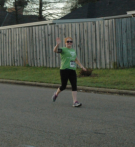 Mile Marker 5&12 on Half/ mile 2 on 5K - Rebekah Thebo