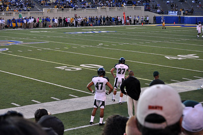 UH Warriors-SJ State Spartans Football 10.14.2011