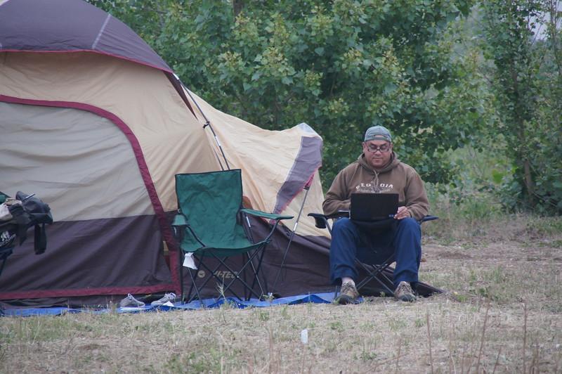 Camping - Antonio Gonzalez