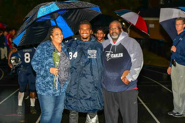 Osbourn 2018 Football Sr. Night
