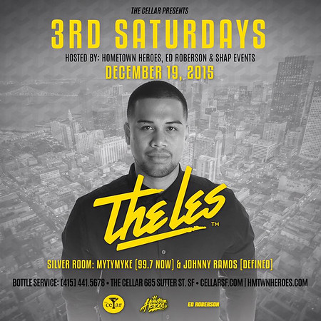 HTH 3rd Saturday @CellarSF 12.19.15