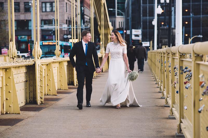 Pittsburgh Elopement Photographer - Monaco Bridge Downtown - Hadley-197.jpg