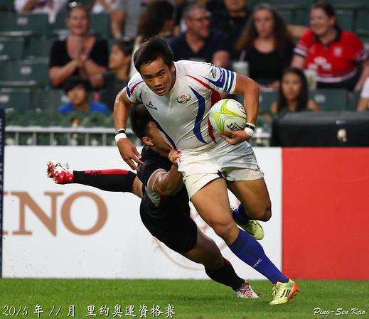 2015年奧運七人制資格賽預賽-台灣 VS 新加坡(TWN vs SGP)
