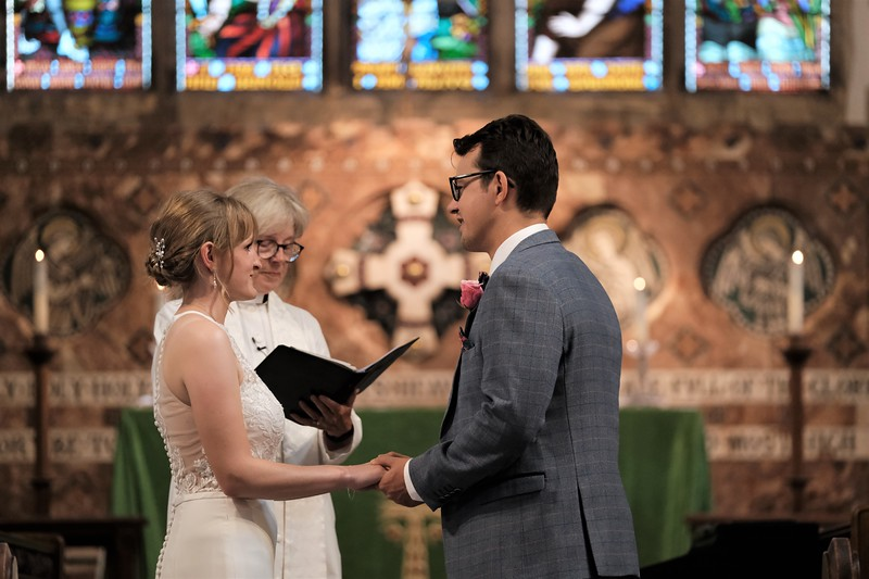 Caroline and Iain Wedding