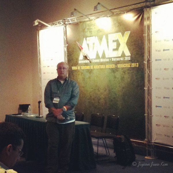 Gary speaking at ATMEX 2013