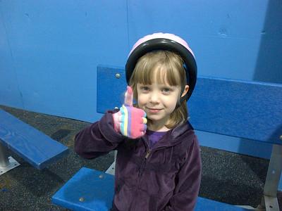 Ice Skating With Eva 12-27-2011