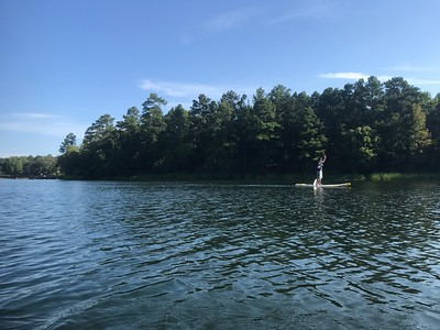 SUP Tyler State Park