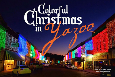 2018-11-11 Colorful Christmas in Yazoo