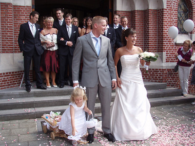 Huwelijk Sanne & Kris 14-8-2010