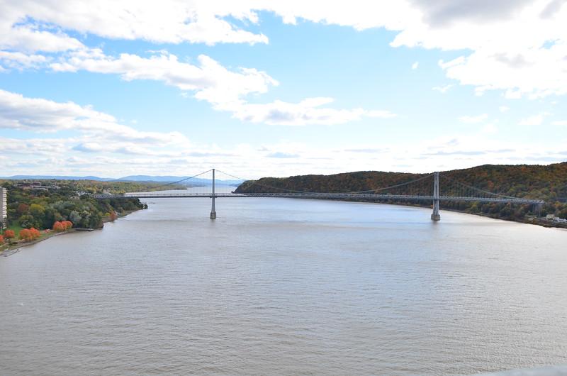 South, toward mid-Hudson bridge