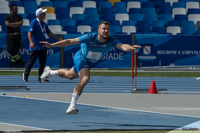 Napoli Summer Universiade 2019 - Men's Javelin