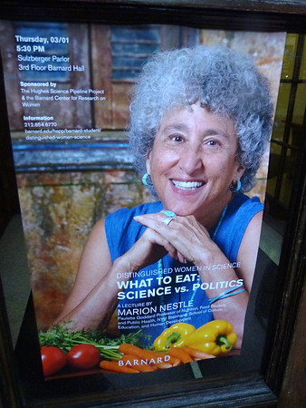 Thu Mar 1 Marion Nestle Maps the Food Monster