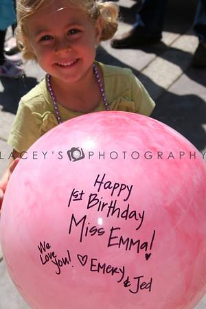 Happy 1st Birthday Emma