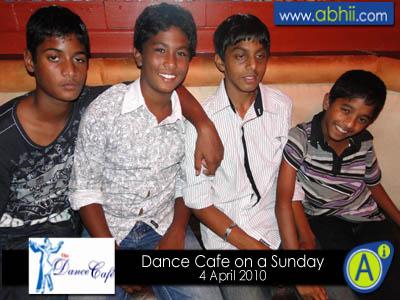 Dance Cafe - 4th April 2010