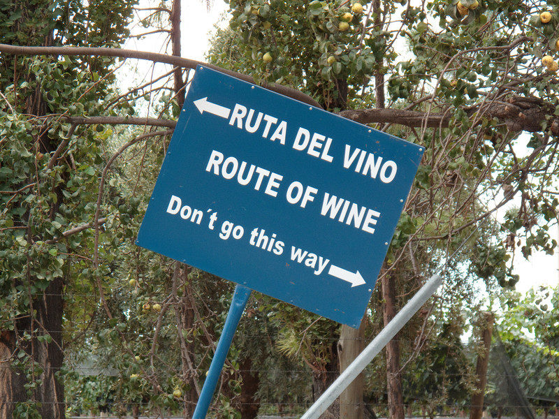 Wine Country Signage