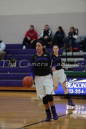 CHCA 2014 Girls Var Basketball vs St. Bernard 01.08