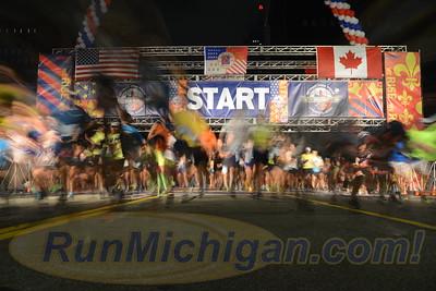 Start, Gallery 1 - 2017 Detroit Free Press Marathon