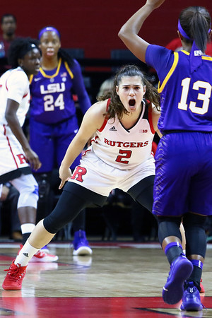 Rutgers Women's basketball vs LSU on 12/15/18