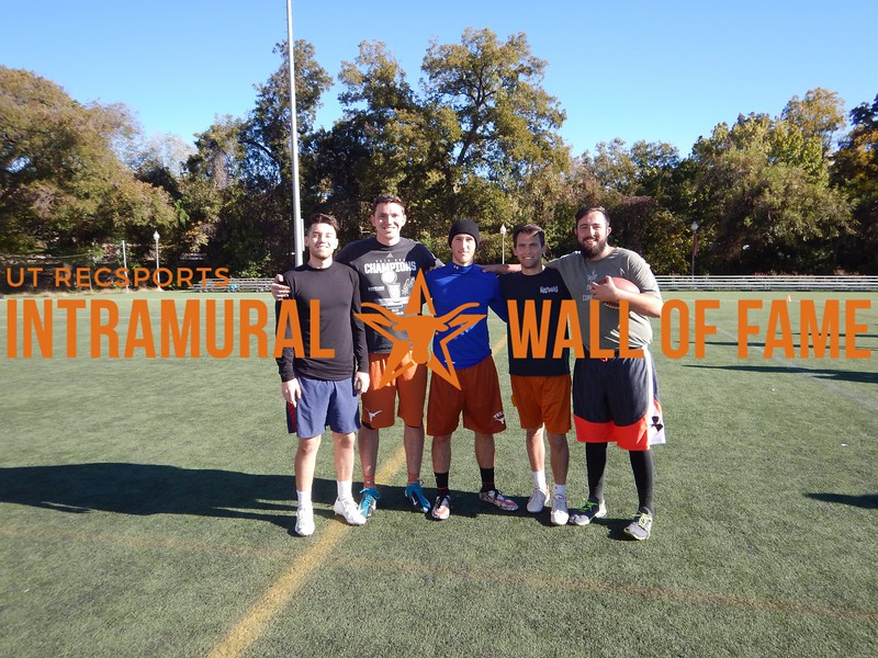 Fall 2016 4v4 Flag Football Mens B Runner Up_Titsburgh Feelers