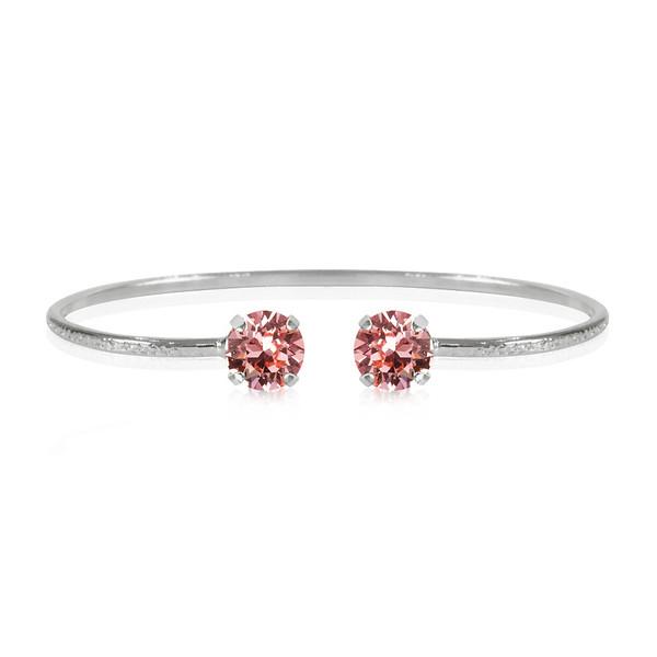 Classic Petite Bracelet / Light Rose Rhodium