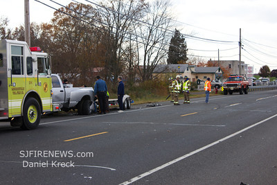 11-11-2011, MVC With Entrapment, Upper Pittsgrove Twp. Salem County, 465 Rt. 40